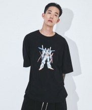 [ATTENTIONROW] overfit robot printing T-shirt