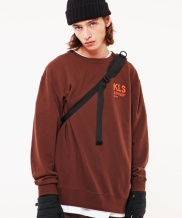 [S SY] KLS LOOSE FIT GRAPHIC SWEAT SHIRTS