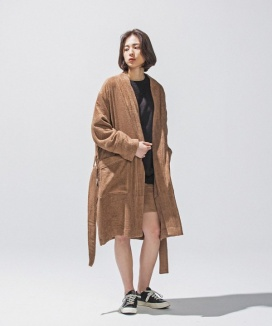 [hugplus] hugplus long robe cardigan