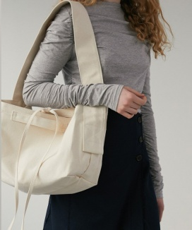 [DIAGONAL] WIDE STRAP BAG