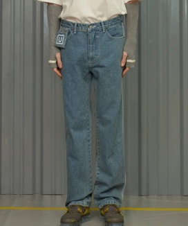 [UNALLOYED] COLOR LINE JEANS