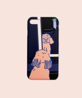 [KOIKOI] Doggie in the mirror phone cases