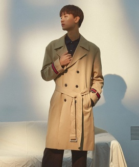 [PRAIRIE] ENCEL OVER-FIT TRENCH COAT