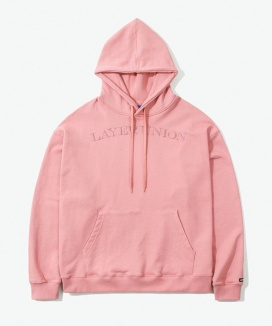 [LAYER UNION] SERIF LU OVER HOODIE