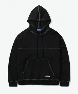 [LAYER UNION] CUT CTRS ST OVER HOODIE