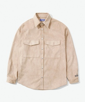 [LAYER UNION] SNAP SUEDE OVER SHIRTS