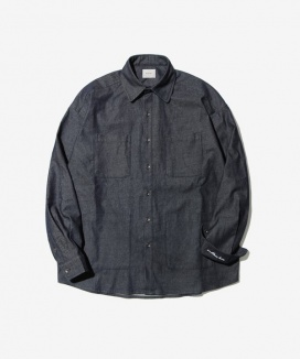 [Diamond Layla] Layla endless love 4pocket washed denim shirt S13