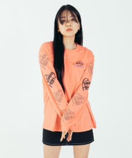 [RUNNING HIGH] COLORFUL DAYS LONG SLEEVE TEE