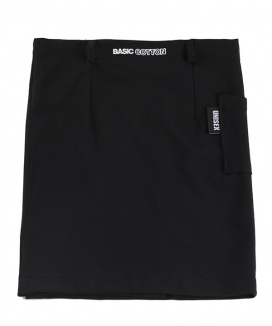 [BASIC COTTON] basic skirt