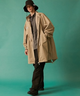 [TRAVEL] DEPARTURE M-51 FISHTAIL LONG COAT