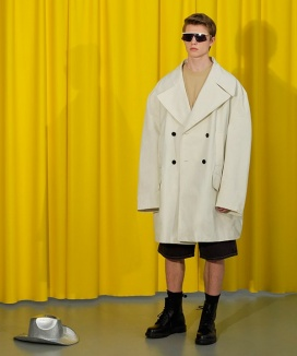 [TRUNK PROJECT] Two Button Oversize Trench Coat