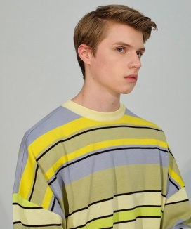 [TRUNK PROJECT] Multicolor Striped Sweater