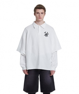 [TRUNK PROJECT] Double Sleeves PK Shirts