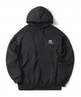 [CRITIC] BACKSIDE LOGO HOODIE
