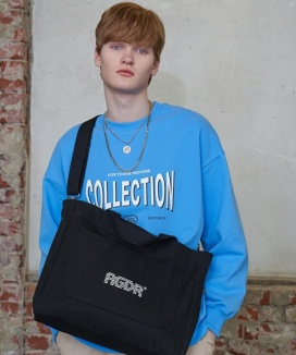 [AGENDER] TWO WAY COTTON BAG