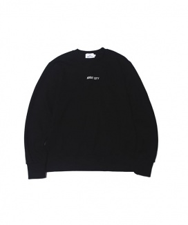 [ABOUT CITY] ABOUT CITY LOGO CREW NECK