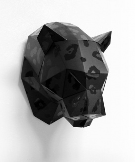 [DECOPOLY] Decopoly Paper hunting trophy leopard