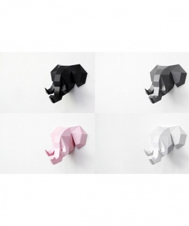 [DECOPOLY] Decopoly paper hunting trophy elephant