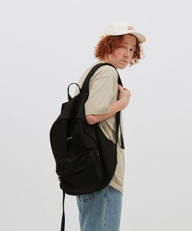 [WKNDRS] WAVY LOGO BACKPACK