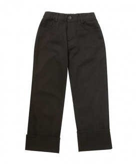 [OOD] NAPPING COTTON TURN-UP PANTS
