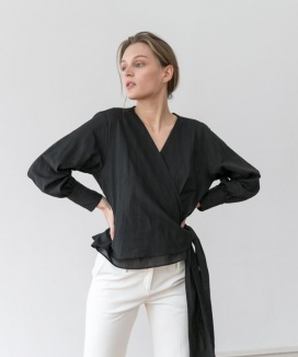 [YouNess] Luna Lap Blouse