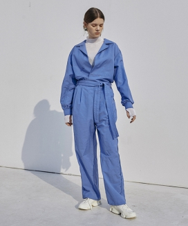 [Ouahsommet] Belted Soft Jumpsuit