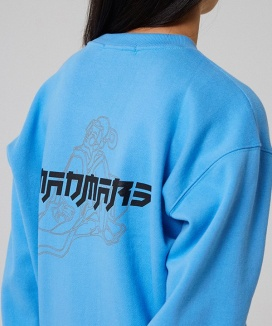 [MADMARS] JAPANESE DRAWING SWEATSHIRT