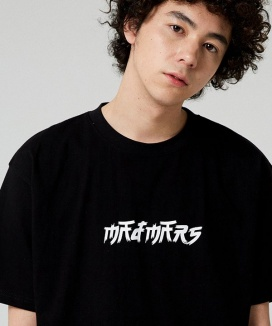 [MADMARS] BRUSH LOGO T-SHIRT
