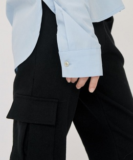 [nuissue] EASY POCKET SWEATPANTS