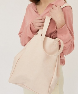 [nuissue] PULPY LEATHER BAG