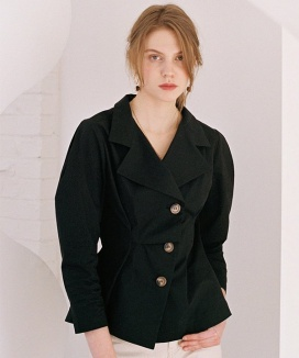 [NOMINATE] DRAPE JACKET BLOUSE
