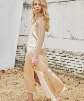 [Sorry, Too Much Love] Signature Slip Long Dress