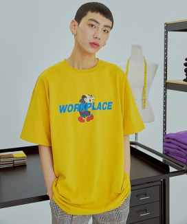 [UMM] WORKPLACE 1/2 T-SHIRTS
