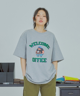 [UMM] WELCOME OFFICE 1/2 T-SHIRTS