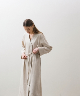 [NONLOCAL] Minimal Robe Dress