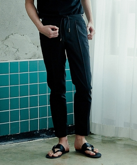 [ARTENO STUDIO] STRING POINT SLACKS