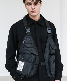 [S SY] ULTRA UTILITY COMPLICATED VEST