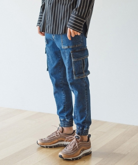 [QUACI] Denim jogger