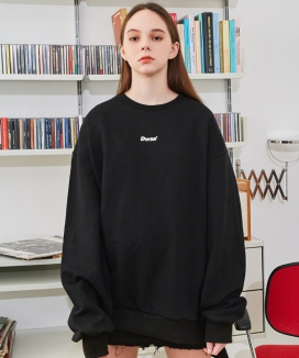 [DRUG WITHOUT SIDE EFFECT] STS1 Dwse Logo Oversized Sweat