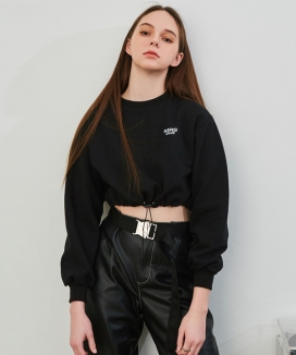 [DRUG WITHOUT SIDE EFFECT] STS1 MRS DWS String Crop Sweat