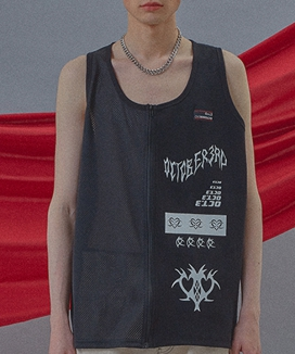 [Oct.3] Golgi & Mesh Zip-up Sleeveless