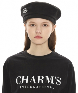 [CHARMS] FOREVER YOURS LOGO BERET