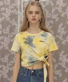 [ODDONEOUT] DYEING TIE T-SHIRT