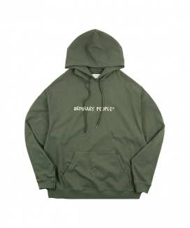 [ORDINARY PEOPLE] ordinary people logo hoodie