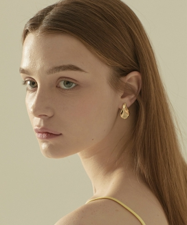 [Vi/Ve] Floral Leaf Earring