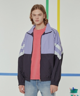 [motivestreet] NEWTRO COLOR BLOCK TRACK JACKET