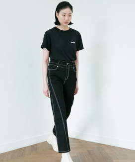 [RA VIDE] DENIM STITCH PANTS