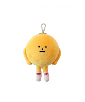 [Sticky Monster Lab] PLUSH DOLL - SML LIFE YELLOWMON XS (KEY CHAIN)