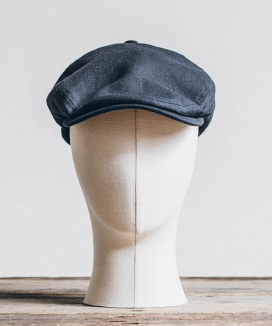 [WILD BRICKS] LINEN-COTTON HUNTING CAP