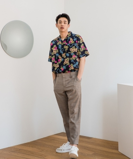 [PRAIRIE] COOLING WIDE SLACKS